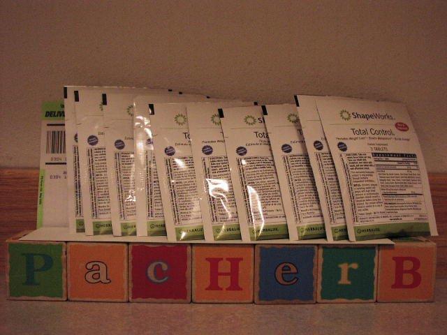 Herbalife Total Control ShapeWorks 10 Sample Packets 2007