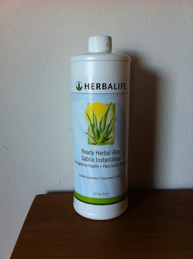 Herbalife Herbal Aloe Drink 32 oz Ready Quart 2010