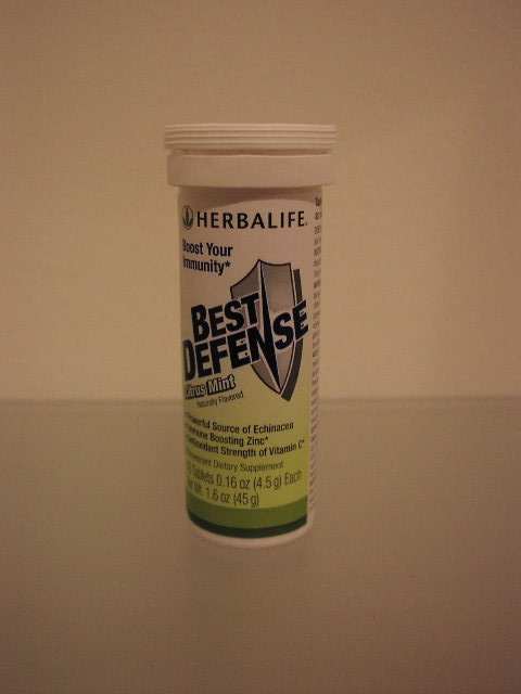 Herbalife Best Defense Immunity Citrus Mint 2007
