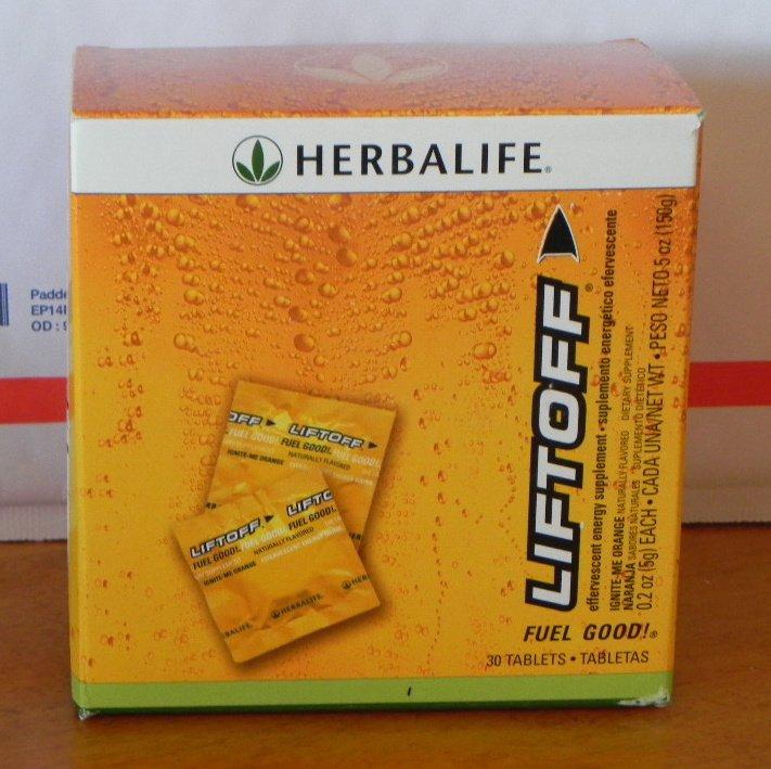Herbalife LiftOff30 LiftOff Lift Off Energy Drink Ignite-Me Orange 2010