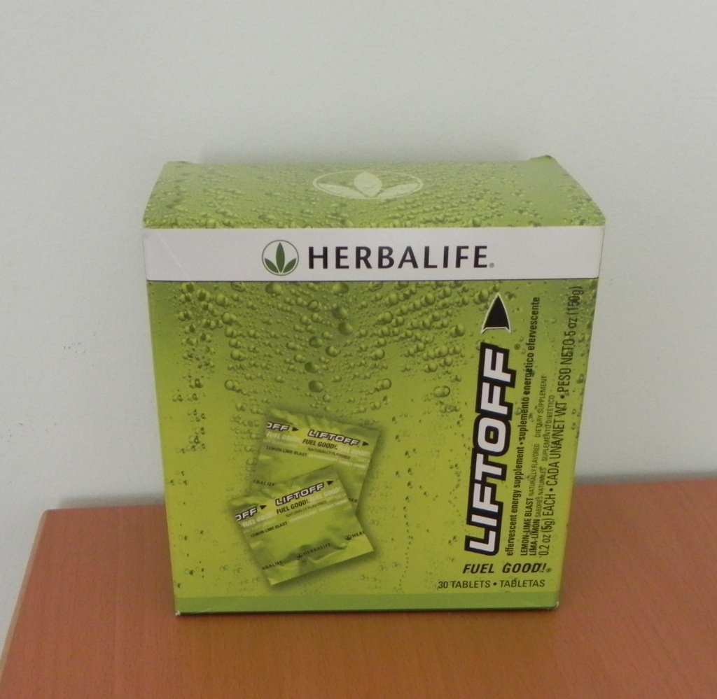 Herbalife LiftOff30 LiftOff Lift Off Energy Drink Lemon-Lime Blast Fresh