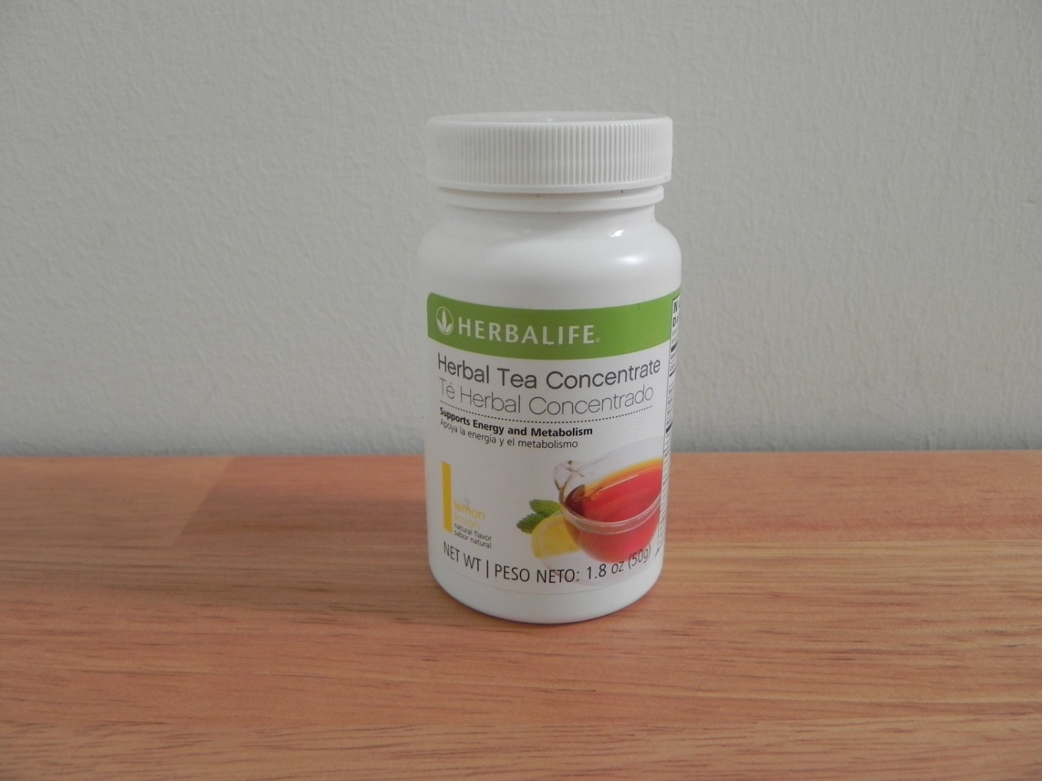 Herbalife Herbal Tea Concentrate 1.8oz 50g Lemon Fresh exp 1/2017 or better