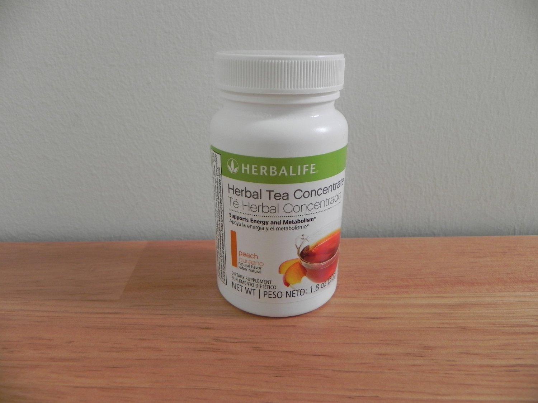 Herbalife Herbal Tea Concentrate 1.8oz 50g Peach ShapeWorks 2011 exp 9/2013