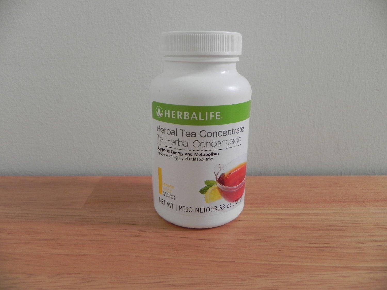 Herbalife Herbal Tea Concentrate 3.53oz 100g Lemon ShapeWorks 2011 exp 9/2013