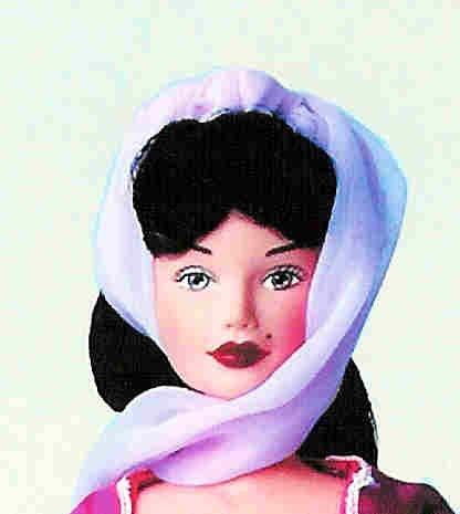 DOLL FASHIONS 2 HAREM / GENIE 1 aqua, 1 purple for 11.5 inch fashion dolls