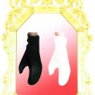 Doll Gloves SHORT Wrist Length BLACK 11.5 to 12 inch dolls CANDI