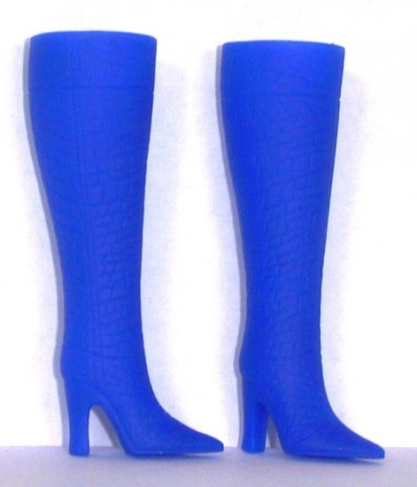 Fashion Doll Boots for 11.5 to 12 Inch dolls ROYAL BLUE Candi Brand