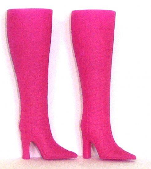 "Doll Boots for 11.5 to 12"" fashion dolls FUCHSIA Candi Brand"