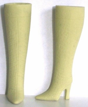 Doll Boots for 11.5 to 12 Inch dolls PISTACHIO BEIGE Candi