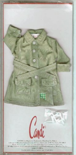 Doll Coat KHAKI  TRENCH 11.5 to 12 inch Fashion Dolls CANDI