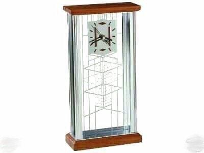 Clock, Bulova Frank Lloyd Wright ROBIE HOUSE DESIGN
