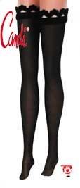 Doll Stockings BLACK Candi 16 Inch Ellowyne Tyler Gene Alex Sybarite