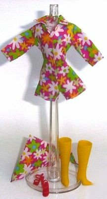 Doll Shortall FLORAL Shoes Boots 11.5 to 12 inch Dolls Candi