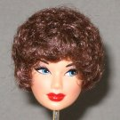 DOLL HEAD Vintage Brunette Bubble Cut 11.5 to 12 INCH fashion dolls Candi