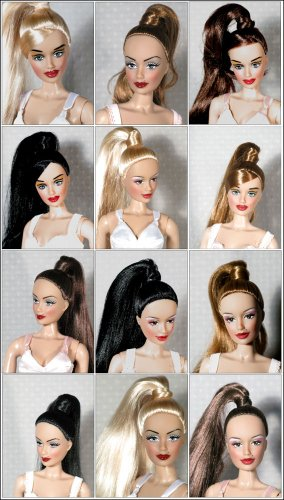 CANDI 16 INCH FASHION DOLL style 103 Brunette Hair Bangs