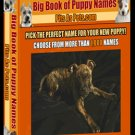 ***Big Book of Puppy names***