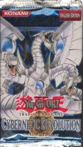 Yu-Gi-Oh Cybernetic Revolution Unlimited Booster Pack