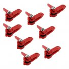 8 Piece Snapper Weight Release Snap Clips For Boat Kite and Planer Board Fishing