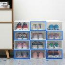6 Set Transparent Shoes Drawer Storage Case Plastic Shoe Box Stackable Organizer