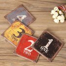 Drinking Cup Coasters Non-slip Place Mats Glass Holder Durable Kitchen Accessory
