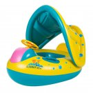 Kids Boat Swimming Ring Inflatable Water Vehicle Float Baby Seat Pool Summer Toy