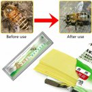 Bee Varroa Mite Treatment Strip Pest Control Beekeeping Acaricide 20 Piece Set