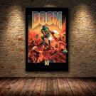 DOOM Video Game Poster Canvas Print Wall Art Painting Pictures For Home Decor