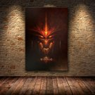 Diablo 3 Video Game HD Canvas Poster Art Paintings Home Decor Wall Pictures