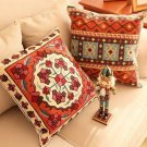 Geometric Embroidered Pillow Case Cushion Cover Home Decorative Throw Pillows