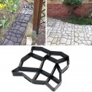 Garden Path Maker Mold Irregular Model Concrete Stepping Stone Cement Mould Tool