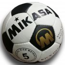 MIKASA KICK OFF SOCCER   NYLON WOUND OFFICIAL MATCH BALL   FIFA APPROVED No.5