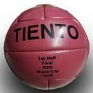 TIENTO FIRST HALF BALL | VINTAGE SOCCER | ANTIQUE FOOTBALL | FIFA WORLD CUP 1930