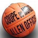 ALLEN COUPE DU MONDE ORANGE | OFFICIAL BALL | VINTAGE CLASSIC SOCCER | WORLD CUP 1938