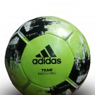 NEW ADIDAS TEAM MATCH PRO GREEN SOCCER FOOTBALL | OFFICIAL MATCH BALL | No.5