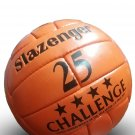 SLAZENGER 25 CHALLENGE MATCH BALL | EMBOSS CLASSIC LEATHER SOCCER BALL | WC 1966