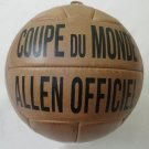 COUPE DU MONDE | ALLEN OFFICIAL BALL | VINTAGE CLASSIC SOCCER | WORLD CUP 1938