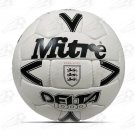 Mitre Black Delta 1000 Official Match Ball | Original Leather Football OMB Soccer ENGLAND