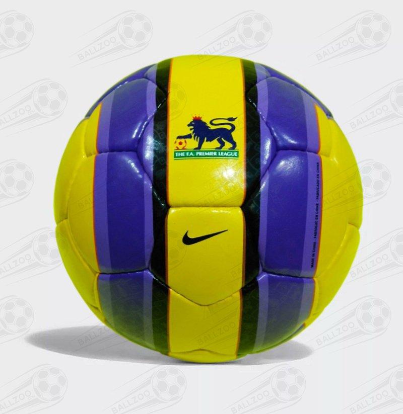 Super RARE Nike T90 Aerow ll | Premier league Official Match Ball | Yellow ball No.5 l OMB