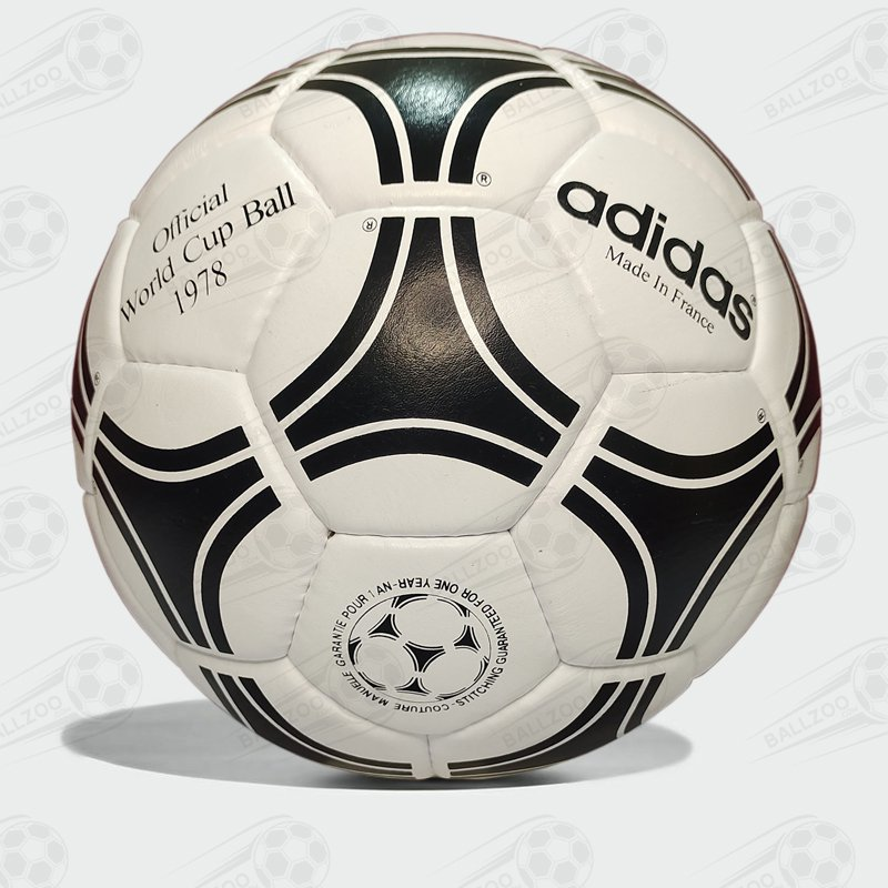 Adidas Tango Durlast ®   Original Leather Football   Official World Cup Soccer 1978