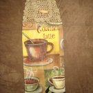 Crochet Top Coffee Shop Towel