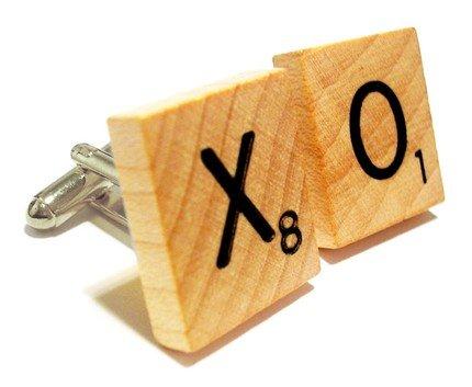 Scrabble Letter Cufflinks