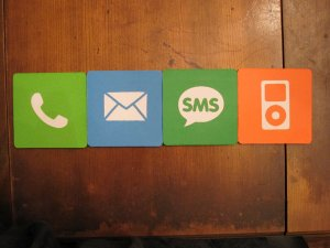 iPhone Application Coasters