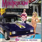 MINITRUCKIN... BAD 4 BANGER.. WINTER 1989 ISSUE TRUCK MAGAZINE