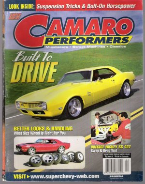 CAMARO PERFORMERS.. SUMMER 2002 ISSUE