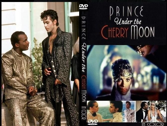 Prince Under The Cherry Moon (Fan Colourized Version!!!) DVD