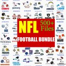 NFL All 32 Teams SVG, Football Svg, Nfl Svg, All Nfl Teams Svg, Nfl Logo Cut File, silhouette