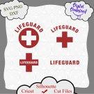 Lifeguard Svg Bundle, Life Guard Cricut, Red Cross SVG, Life Guard PNG, Lifeguard Clipart