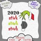 2020 stink stank stunk svg, funny Christmas 2020 svg, Grinch svg, Christmas svg, grinch shirt
