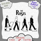The Roses Abbey road Schitts Creek Svg, The Roses svg, Abbey road svg, Schitts Creek Svg