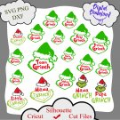 Grinch family bundle, Grinch svg, Grinch quotes, mama Grinch svg, papa Grinch svg, little Grinch svg